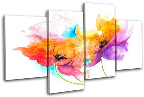 Painting Style Floral - 13-1027(00B)-MP04-LO